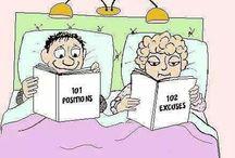Un peu d' humour / Un tableau constitué d'images humoristiques, pour égayer votre journée !