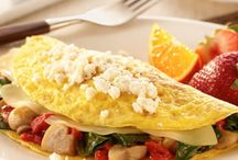 Omelette with capsicum