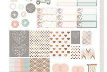Sticker Printables