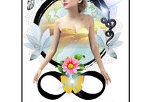 Tarot Design - Divinity Deck / Oracle Deck by Tracey-anne McCartney.