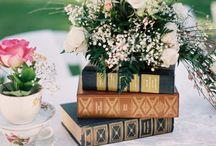 ...A WEDDING CENTRE PIECE - TABBLE...
