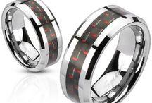 Mens Steel Rings
