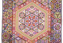 quilts-hexagons