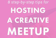 meet ups and workshops