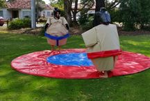 Silly Sumo Party Hire / Silly fun for everyone.. Contact Anna on 0401 310 475
