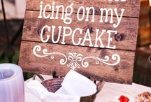 Wedding Signs / Make it easy for your guests to navigate your wedding with these cute sign ideas! Brought to you by Milroy's Tuxedos.  www.MilroysTuxedos.com