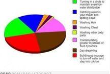 Life pie charts