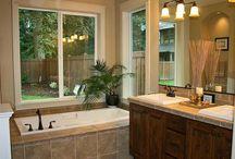 bathroom remodeling / by Lisa Fox