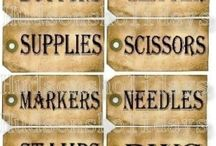 labels for household goodies