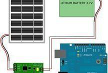 zasilanie arduino solar