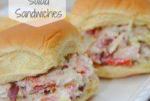 Sandwiches / by Lori Jones