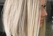 Thin hair cuts and color