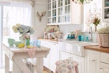 Shabby Chic Interiors / Shabby chic is a style of interior design that become more and more popular so we've gathered all these cool shabby chic decorating ideas.