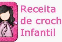 Receitas de Crochê / RECEITAS DE CROCHETEIRAS DO PINTEREST