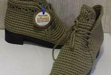 Crochês shoe/sandal