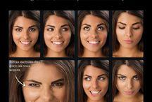 позы для фото выражение лица