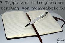 Übers Schreiben / Rund ums Schreiben http://violabellin.de