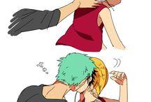 Luffy x Zoro