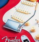 Fender Guitars/ Fender Gitaren / Prachtige afbeeldingen van Fender op metalen borden