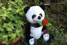 Panda oyuncak 23 cm