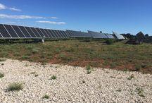 location centrale photovoltaique au sol