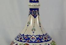 Çini vazolar