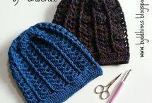 Crochet hats and ear warmers / Crochet