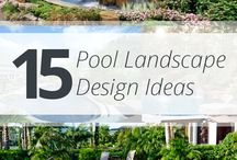 Landscaping your Pool and Hot Tub Area / How to add lovely space to relax and enjoy your pool and hot tub.