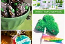 St. Patrick's Day / Food, drinks, decor, party ideas, DIY, arts&crafts, kids activities, & inspiration.
