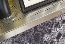 Digital Lace Radiator Covers / A range of printed designs by Hannah Phoenix showcasing her wonderful digital lace designs