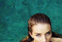 Water editorial. Mermaid