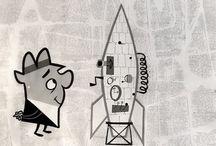 Mid-Century(ish) Cartoon / by Kevin Gupton