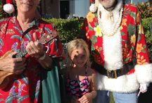 Christmas on Kauai / Every wonder what Christmas is like on a tropical island? Does Santa wear shorts and an Aloha Shirt?