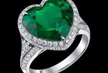 Rings and green Emeralds