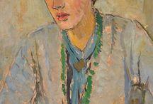 Bloomsbury / style Bloomsbury, style anglais suranné, artiste et littéraire, couleurs sourdes, Charleston farm, Virginia Woolf et Vanessa Bell...