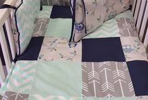 Hooty Tree Owls / Our ever so cute Hootie Tree Owls features accents of Mint and Navy, creating this gorgeous theme for Surina's nursery