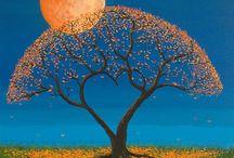 Stromy / Krásné stromy, přírodní i v umělecké tvořivosti