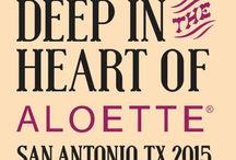 Deep in the Heart of Aloette / A big texas howdy from San Antonio! We can't wait to see you there! / by Aloette Cosmetics