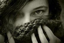 female winter photoshoot