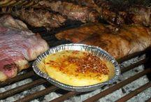 Matambre y queso derretido y palta / Guarniciones para el matambre asado a la parrilla