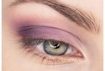 Lila Augen Make-up