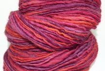 Awesome Yarn! handspun yarn by Riin Gill