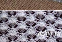tejido dos agujas
