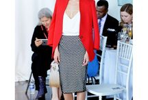 Skirt midi and jacket/blazer