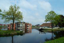 Kloosterhaven / De boederij en buurt rondom de haven in Kloosterveen