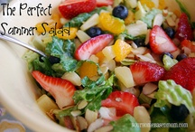 YHM - Salads / Delicious salads to use as a side dish or a main dish / by Leigh Anne, YourHomebasedMom