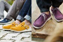 footprints / handmade shoes