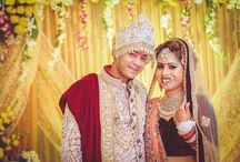 Socialite Ashish Bhardwaj gets hitched / The marriage and reception banquet of socialite and entrepreneur Ashish Bhardwaj were both flamboyant affairs. While the marriage was hosted at the swish 'Hotel Surya' in NFC, the venue of the cocktail reception was the 'Mahipal Green Valley' on the Surajkund Road. Ashish and his bride Shivani looked resplendent in their designer outfits, and so did the grooms parents, younger brother and sister Anisha. Both the events were duly graced by the city's glitterati.