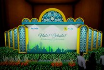 Desain Panggung Acara Halal Bi Halal