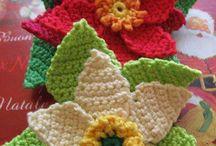 Virkatut kukat=Crochet flowers